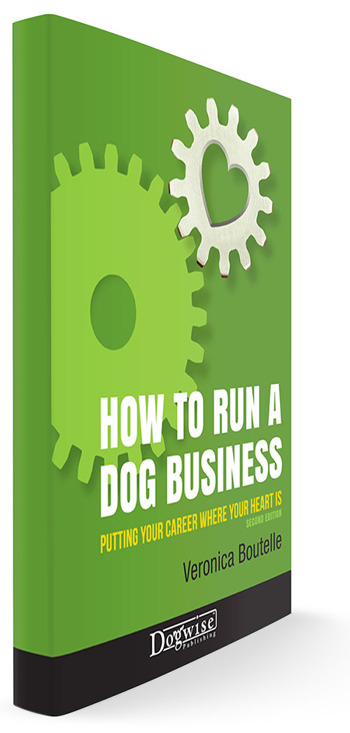 How to Run A Dog Business book cover